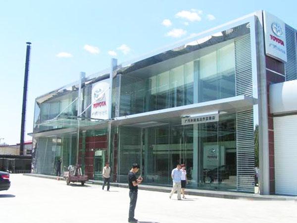 门店现代建筑手绘线稿